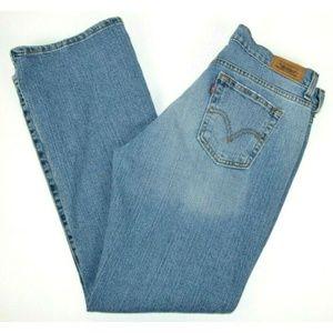 Levi's 515 Boot Cut Blue Jeans